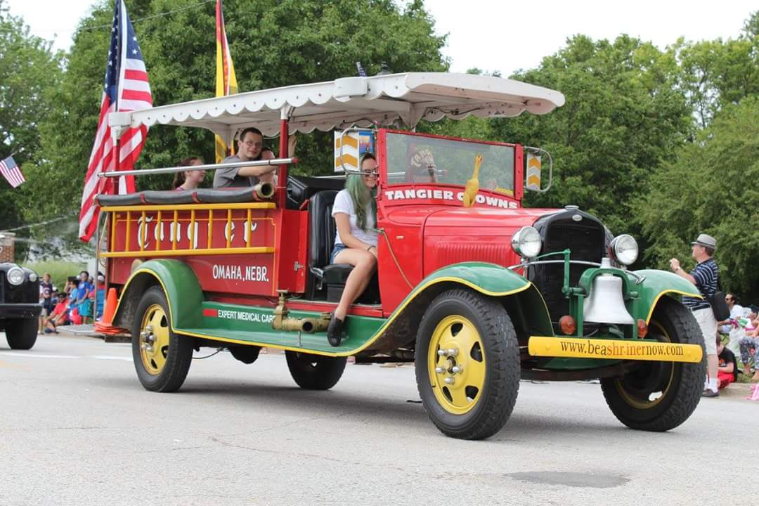 Shriner Car: The Shriner Clowns Are Coming To I-80 On August 19